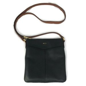 Lauren Ralph Lauren Crossbody Bag Black Zip